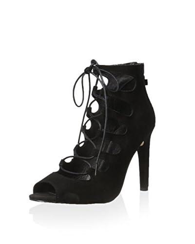 Skin Women's Soho Lace Up Bootie Sandal  [Black]
