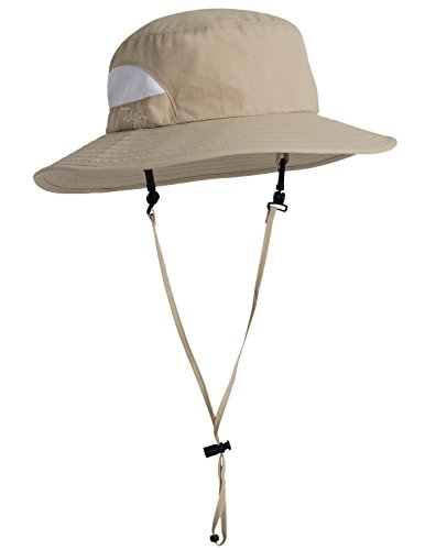 Tuga Adult UPF 50+ Playa Bucket Hat, Tan, One Size