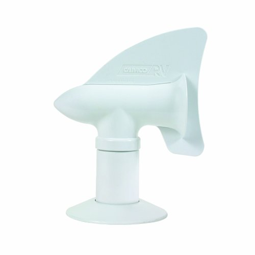 Camco 40595 White Cyclone Sewer Plumbing Vent (Rv Plumbing Vent Cap compare prices)