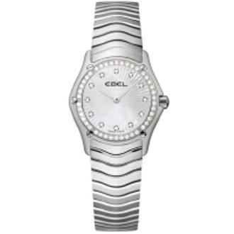 Ebel Watches- Ebel Classic Mini Diamond Markers and Bezel Women's Watch