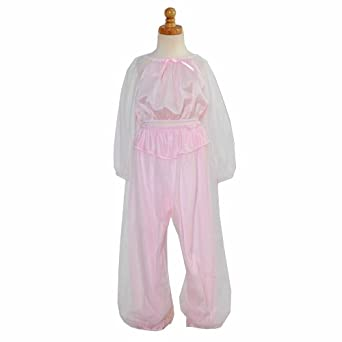 Laura Dare Toddler Little Girls Size 2T-14 Sheer Pink Genie Pajama Set