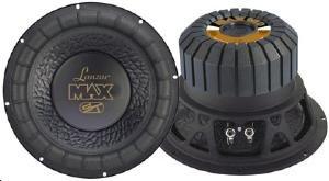 Lanzar Série Max Caisson de basse Double avec Enceinte 38,1 cm 4 ohm 1200 W Noir