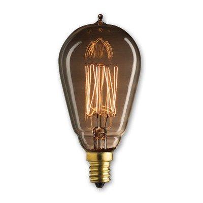 25W Nostalgic Incandescent Edison St15 Candelabra Base Bulb [Set Of 3]