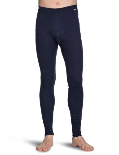 Huber Herren Lange Unterhose 2362 / Comfort Pant lang mit Eingriff, Gr. 6, Blau (MARINE 0386)