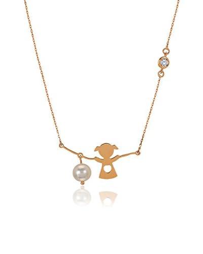 Divas Diamond Conjunto de cadena y colgante Diamond Pearl Diamond Girl