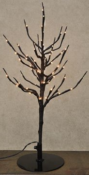 Lighted Mini Tree White Led Country Primitive Christmas Holiday Décor
