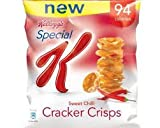 New Kelloggs Special K Sweet Chilli Cracker Crisps 24x23g