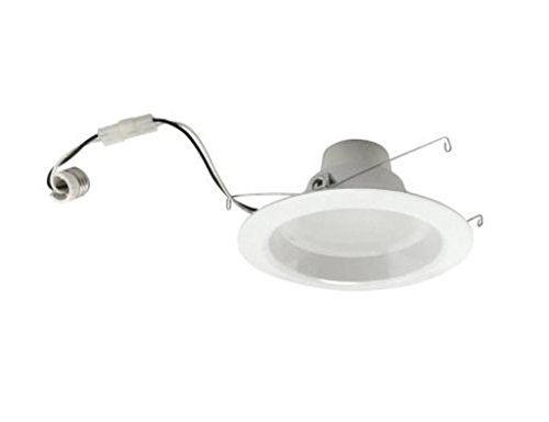Tcp Rl10Dr427K Led 4 Inch Recessed Downlight Retrofit Kit - 50 Watt Equivalent (Only 10W Used) Soft White (2700K) Flood Light Bulb