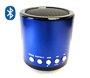 KD Original MN02 BT Bluetooth Stereo Speaker Rechargeable USB FM SD TF Card Blue