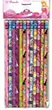 Disney Princess 12 Pack of Pencils Featuring Disney Princesses