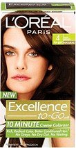 L'Oreal Paris Excellence To-Go 10-Minute Crème Coloring, Dark Brown 4