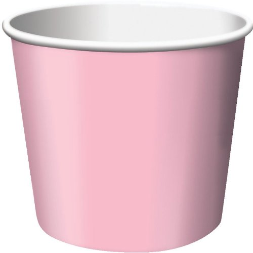 Creative Converting 6 Count Treat Cups, Classic Pink - 1
