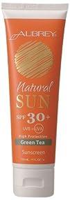 Aubrey Organics  Natural Sun Sunscreen High Protection Green