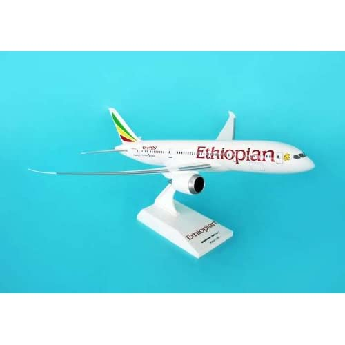Amazon.com - Skymarks Ethiopian 787-8 1/200 - Hobby Model Aircraft