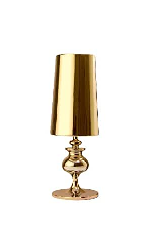 Esprit Lamp Lyra Gold Table Lamps Amazoncouk Lighting