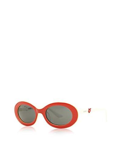 Moschino Gafas de Sol T-67602 (47 mm) Rojo / Blanco