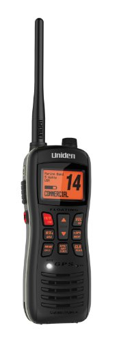 Uniden MHS235 Marine Handheld Radio with Speaker Mic