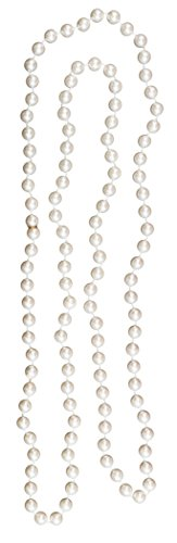 "Loftus Roaring 20's Flapper Pearls Necklace, White, One-Size (30"") - 1"