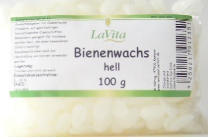 Lavita Bienenwachs hell 100gr thumbnail