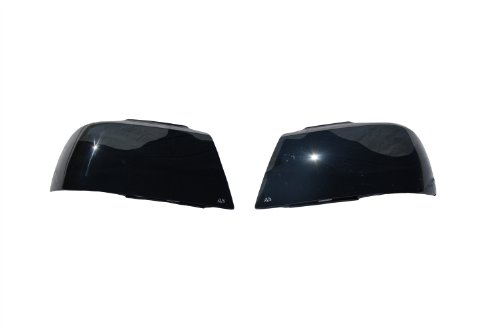 Auto Ventshade 37156 Smoke Headlight Cover - 2 Piece (S10 Headlight Covers compare prices)