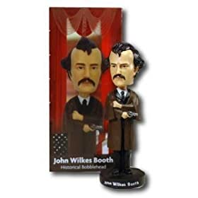 John Wilkes Booth Lincoln Assasination Bobblehead Doll