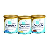 Nutricia North America Neocate Junior Pediatric Nutrition Unflavored Powder 14Oz Can, Amino acid-based, Hypoallergenic