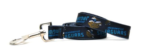 Yellow Dog Design Jacksonville Jaguars Licensed NFL Dog Leash, Medium, 3/4-Inch by 60-Inch (Jaguar Harness compare prices)