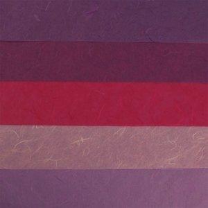 RAYHER - Papier-Set DIN A3 Lila-Töne, SB-Btl. 5 Stück verschiedene Farbtöne