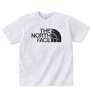 THE NORTH FACE(ザ・ノース・フェイス) トレッキング アウトドア ウェア プリントTシャツ メンズ ホワイト NT31503A W