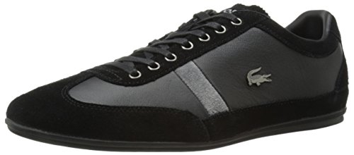 Lacoste Men's Misano 22 Lcr Casual Shoe Fashion Sneaker, black, 9 M US