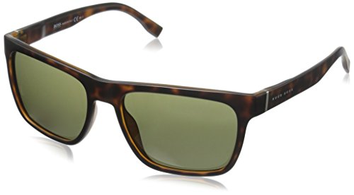 BOSS-by-Hugo-Boss-Mens-B0727s-Wayfarer-Sunglasses-HavanaBrown-56-mm