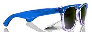4sold - Lunettes de soleil -  Homme Noir Bleu