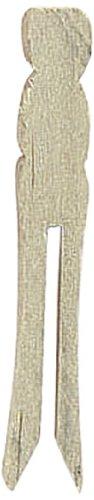 Darice 9150-95 Mini Flat Pin, Natural, 2-1/2-Inch.