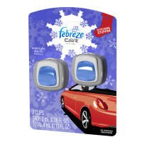 Febreze 2 mL (0.06 FL OZ) Car Vent Clips Air Freshener and Odor Eliminator, Midnight Storm Scent (2 CLIPS) from PROCTER & GAMBLE