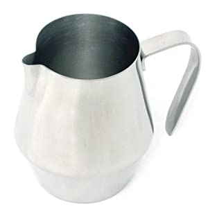 Espresso 32oz Stainless Steel Frothing Steaming Pitcher by RSVP