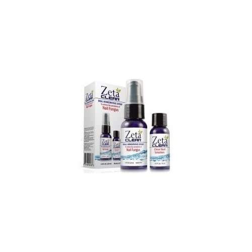 Zetaclear Nail Fungus Treatment - Oral Homeopathic Spray and Topical