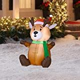 Airblown 3.5 ft Baby Reindeer Christmas Inflatable