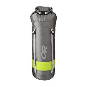 Outdoor Research Airpurge Dry Compression Sack, 35-Liter, Pewter