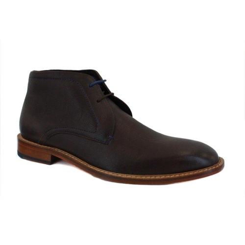 Ted Baker Torsdi 9-12794 Mens Laced Leather Casual Ankle Boots Brown - 12
