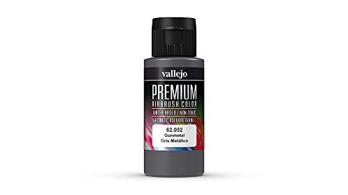 Vallejo Color Gunmetal Premium RC Colors