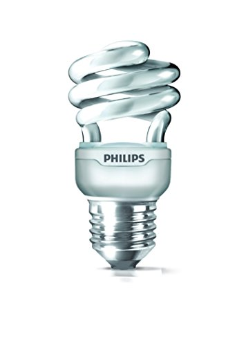 Philips Philips Tornado E27 11-Watt CFL (Warm White And Pack Of 2) (Beige\/Sand\/Tan)