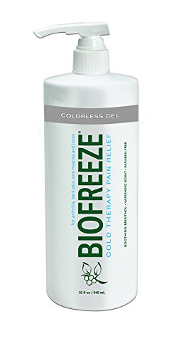 Biofreeze-Pain-Relief-Gel-32-Ounce-Bottle-with-Pump-Colorless-Formula-Pain-Reliever