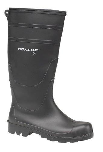 Dunlop Universal PVC Mens Welly Black