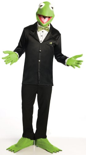 The Muppets Kermit The Frog Costume And Mask
