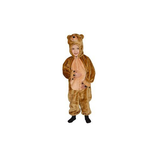 Cuddly Little Brown Bear Toddler Costume Size 2T