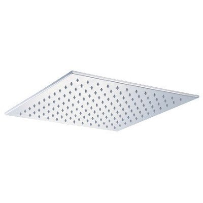 Alfi Brand Led5011 16-Inch Square Multi Color Led Rain Shower Head, Polished Stainless Steel