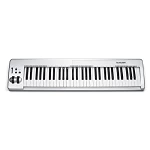 M-Audio Keystation 61ES 61-Key Semi-Weighted USB MIDI Controller $129.99