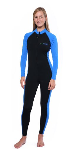 1a06ee9e6ff The Features EcoStinger Women s Sun Protective Swimwear Stinger Suit Full  Body Cover Swimsuit M Black Blue -. UPF50+ protection; Chlorine resistant