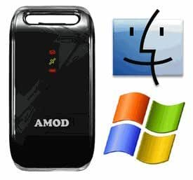 AGL3080: Amod AGL3080 GPS Data Logger (Windows and Mac Image Software included)