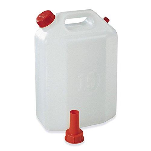 Réservoir polyéthylène 30 L avec bouchon verseur Plastime pour eau de vin huile et liquides